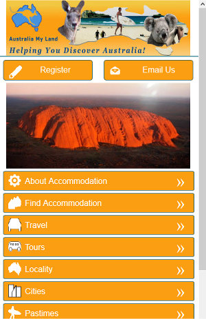 Australia My Land Mobile App Website