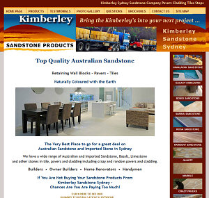 Kimberley Sandstone Products Sydney